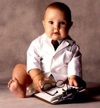 Born to be a doctor